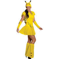 Teen Girls Pikachu Costume-Pokemon