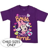 So Many Bows Minnie Mouse T-Shirt
