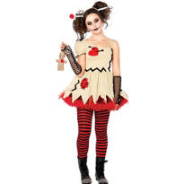 Teen Girls Voodoo Doll Costume