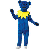 Adult Orange Grateful Dead Bear Costume