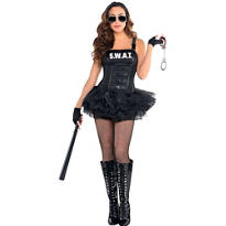 Adult Hot SWAT Costume
