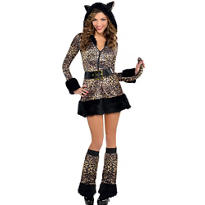 Adult Pretty Kitty Costume - Cat