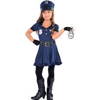 Girls Cop Costume