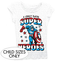 I Only Date Captain America T-Shirt