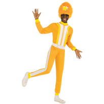 Adult DJ Lance Rock Costume Plus Size - Yo Gabba Gabba