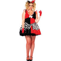 Adult Court Jester Costume Plus Size
