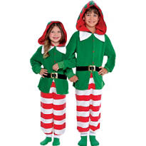 Child Elf One Piece Pajamas