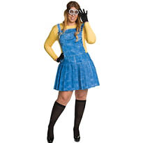 Adult Minion Costume Plus Size - Minions