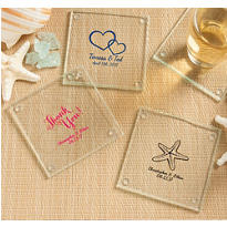 Personalized Glass Coasters <br>(Printed Glass)</br>