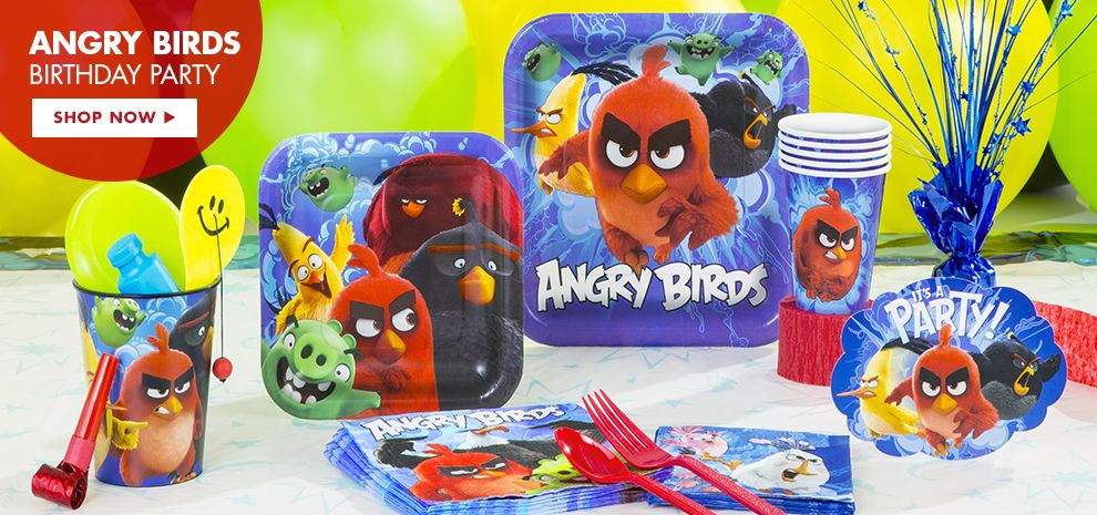 Angry Birds the Movie Birthday Party