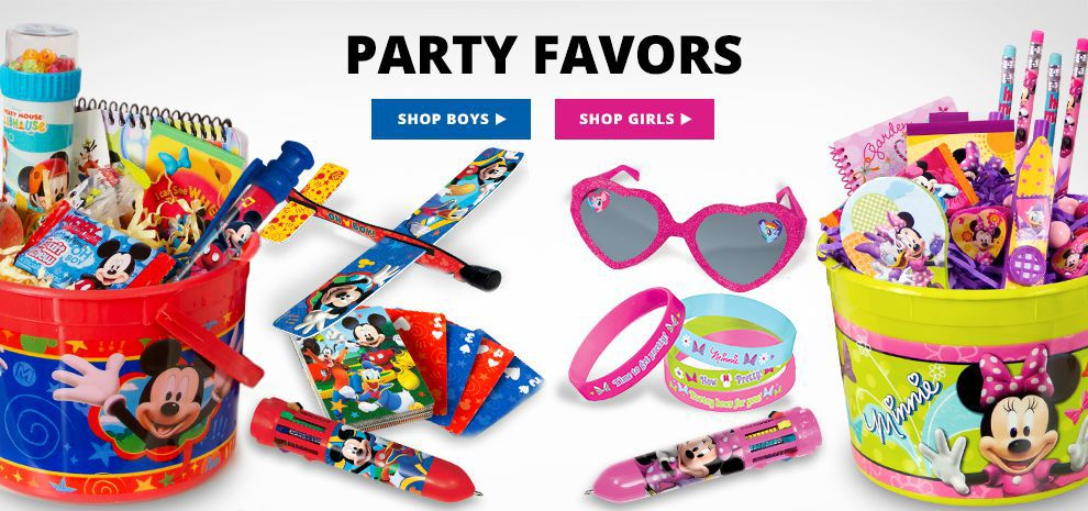 Birthday Party Favors Shop Now