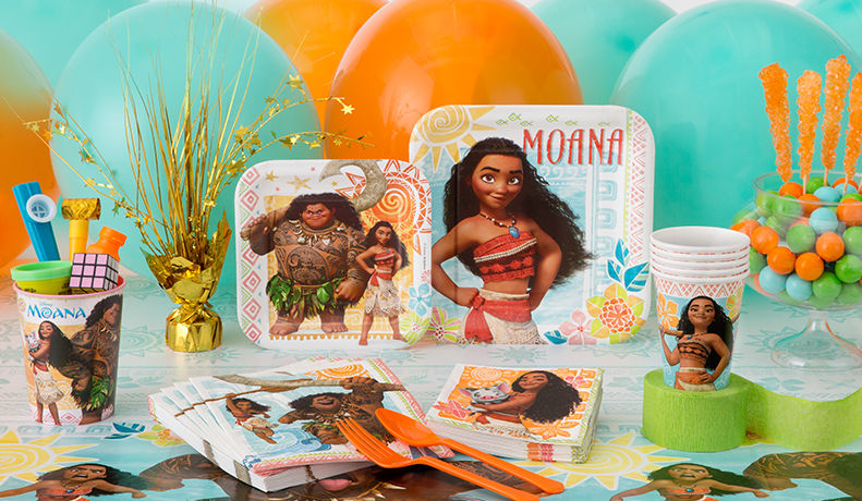 Moana Summer Luau Birthday Party Supplies