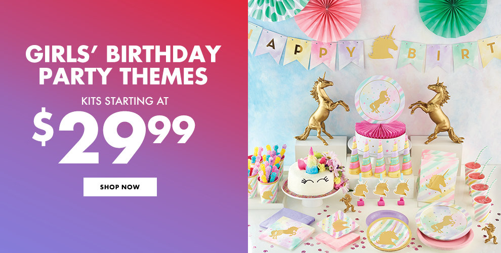 Girls Birthday Party Themes Kits Starting At 2999 Shop