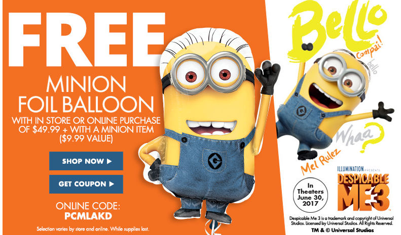 Minions Birthday Party Supplies