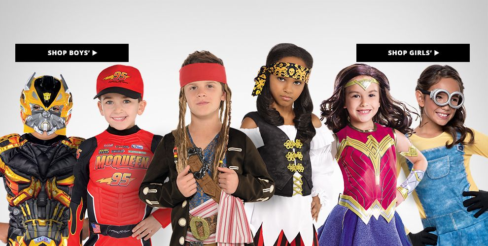 Boys' & Girls' Costumes Shop Now