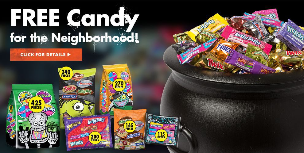 Free Halloween Candy for the Neighborhood!