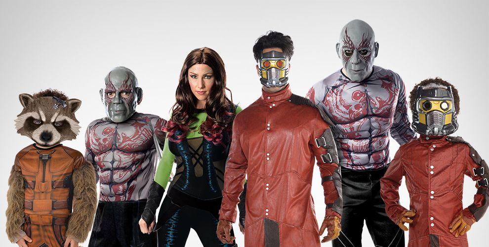 Guardians of the Galaxy Costumes & Accessories