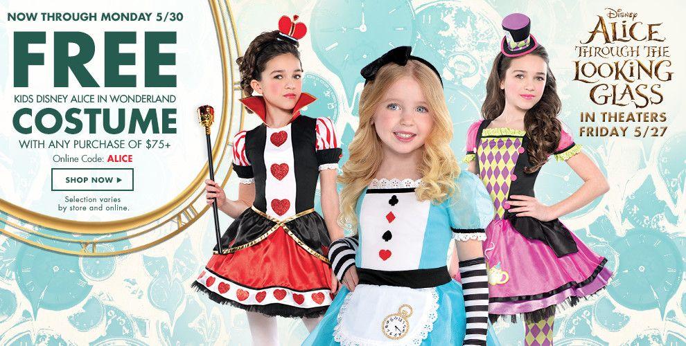 Shop Alice in Wonderland Costumes