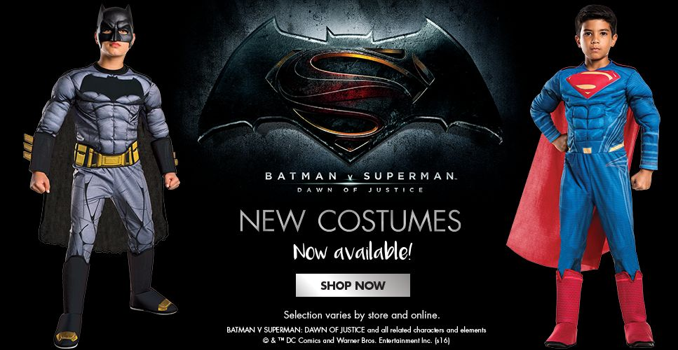 Dawn of Justice Costumes