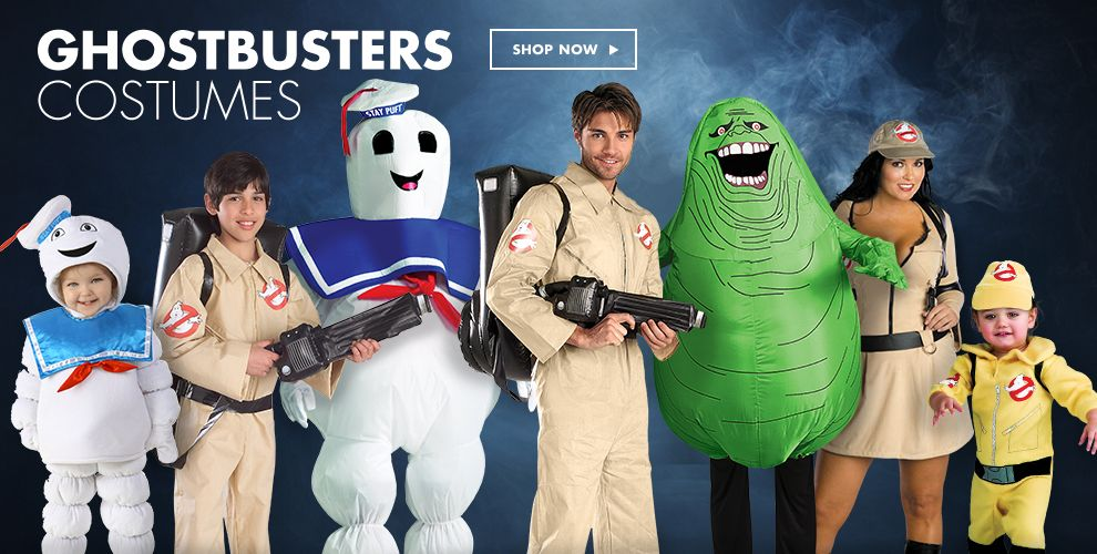 Shop Ghostbusters Costumes