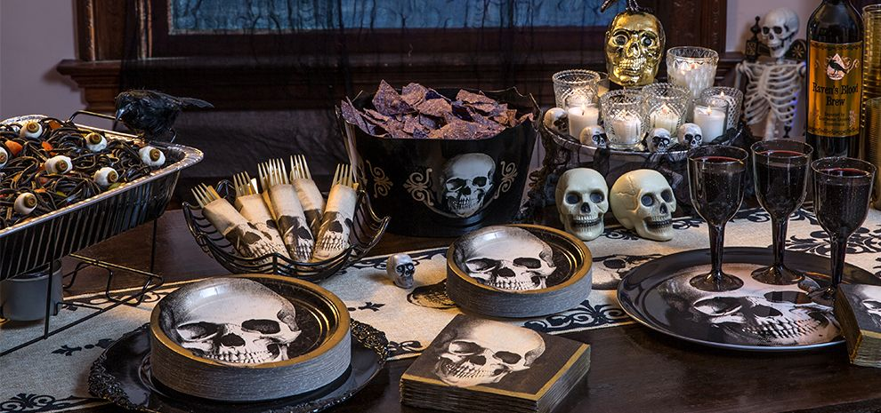 Halloween Tableware & Party Supplies