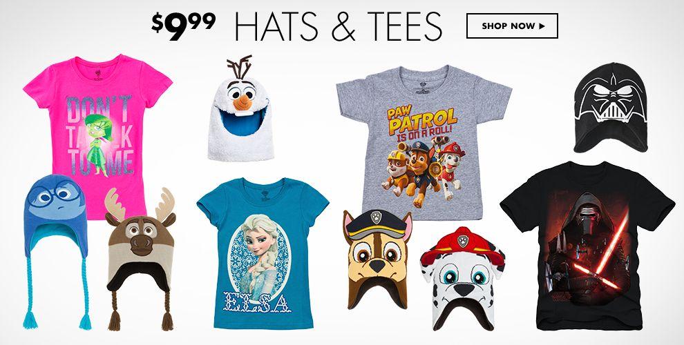$9.99 Hats & T's