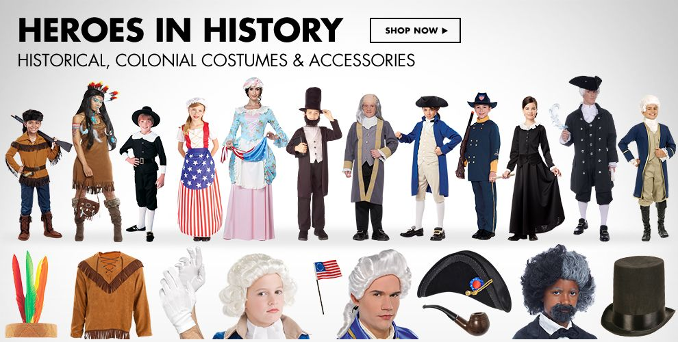 Historical Costumes  & Accessories