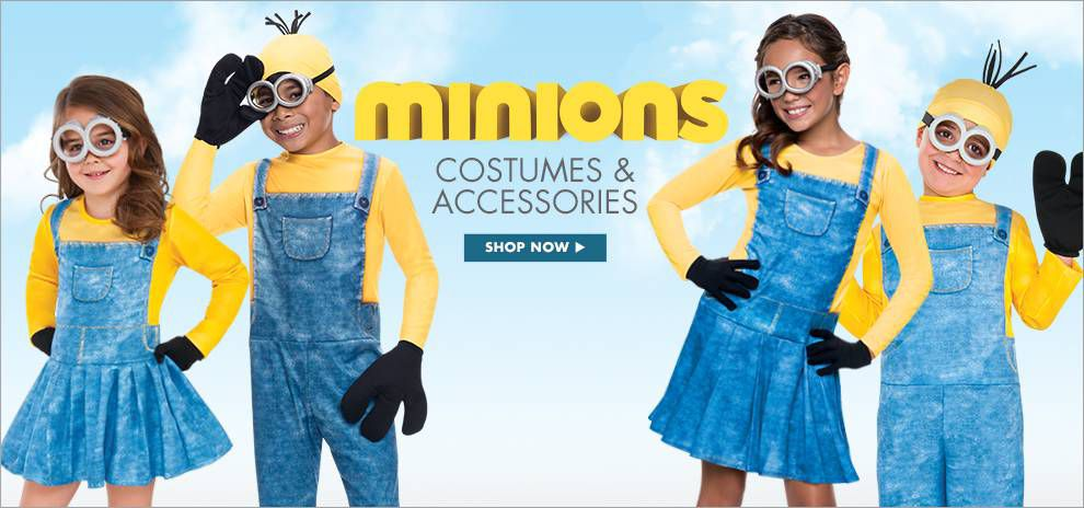 Kids Halloween Costumes 2015 Minions Costumes Accessories