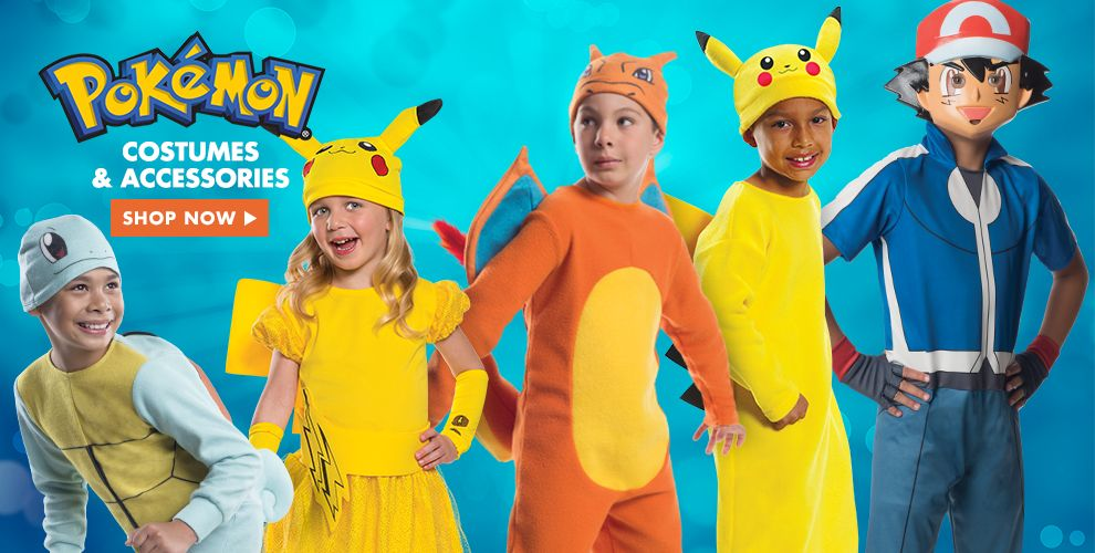 Shop Pokemon Costumes & Accessories