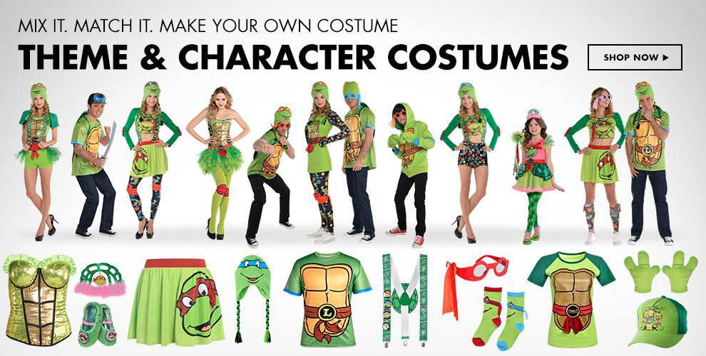 Teenage Mutant Ninja Turtles Costume & Accessories