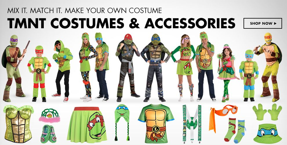 Shop Teenage Mutant Ninja Turtle Costumes & Accessories