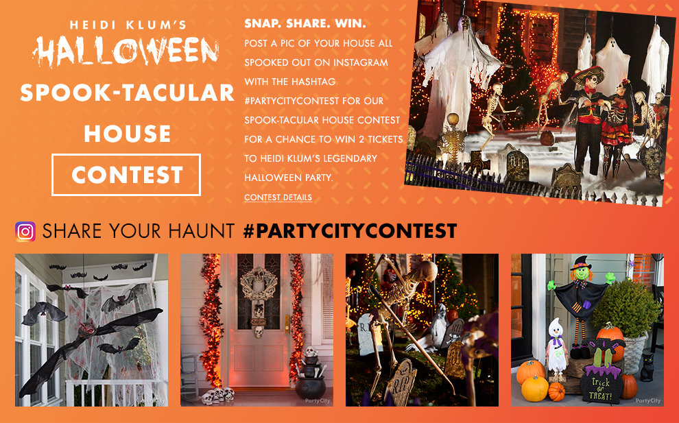 Spook-Tacular House Contest – Share Your Haunt #PARTYCITYCONTEST