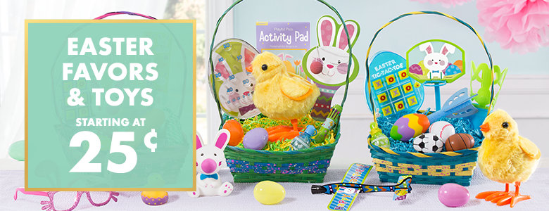 Easter Favors, Activities, and Toys