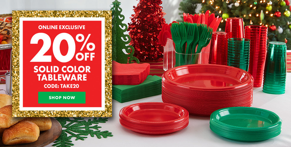 Color Tableware - 20% off Shop Now