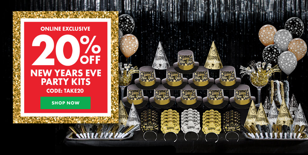 New Years Party Kits - 20% off