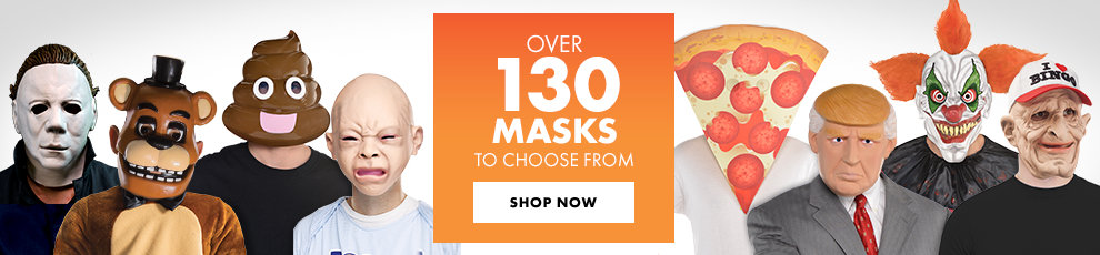 Over 130 Masks to Choose From Shop Now