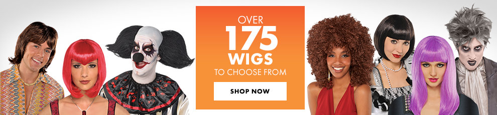 Over 175 Wigs to Choose From Shop Now
