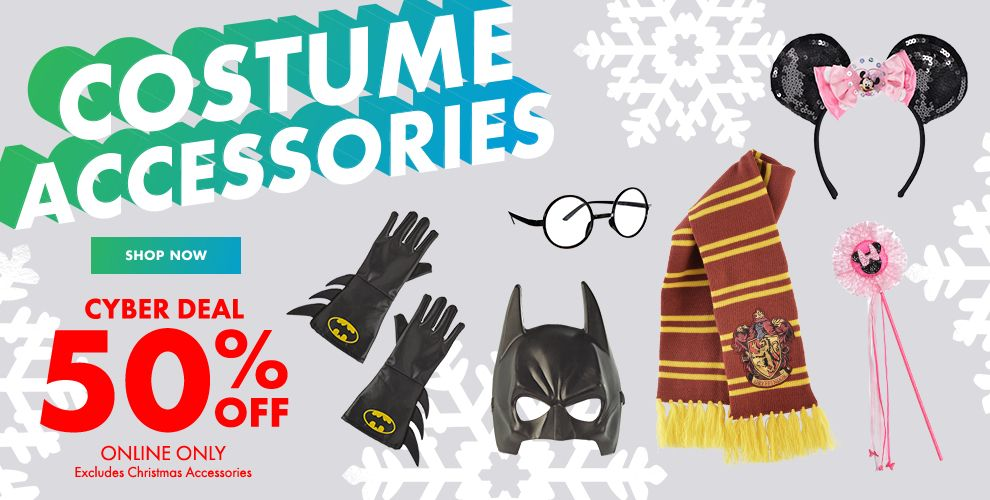 Costume Accessories Cyber Deal 50% Off