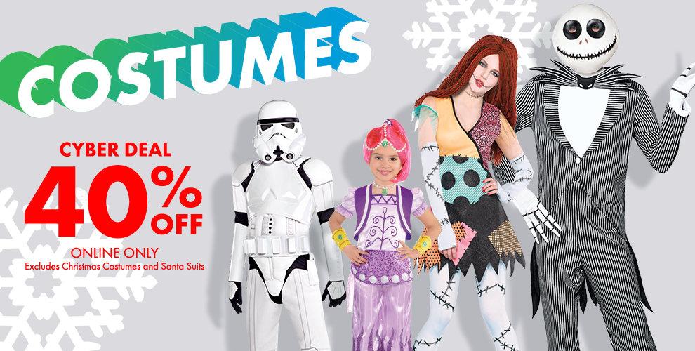SALE 40% off costumes Shop Now