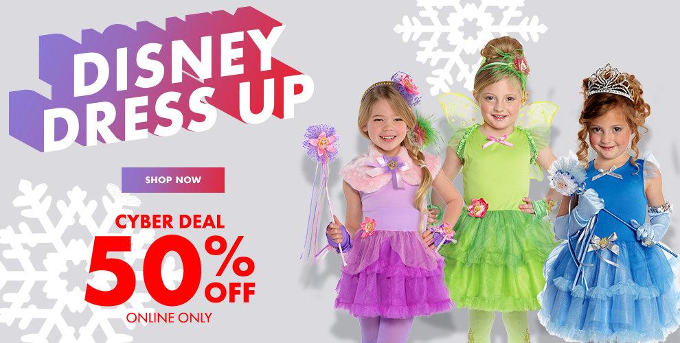 SALE 50% off Disney Dress Up Shop Now