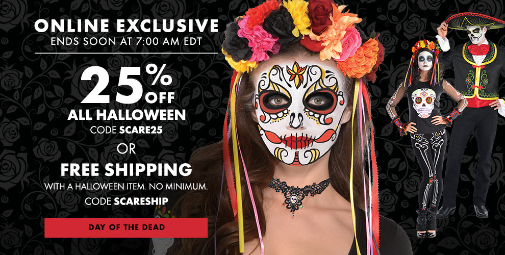 Day of the Dead Costumes Shop Now