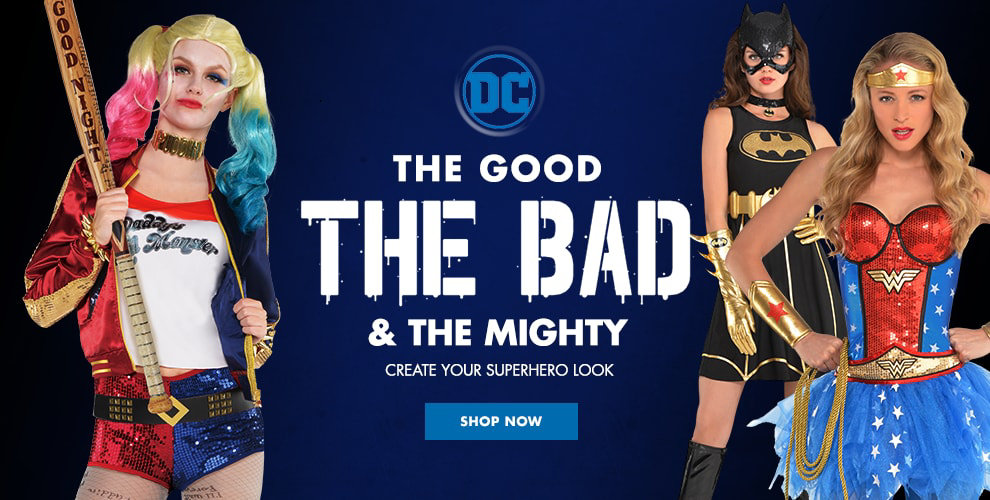 Sexy Superhero Shop now