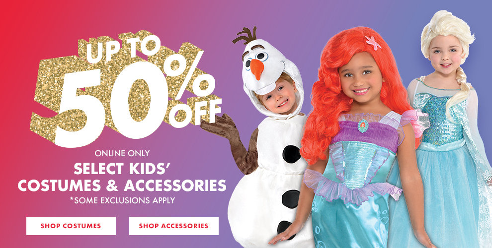 50% off Disney Princess Costumes. Shop now!