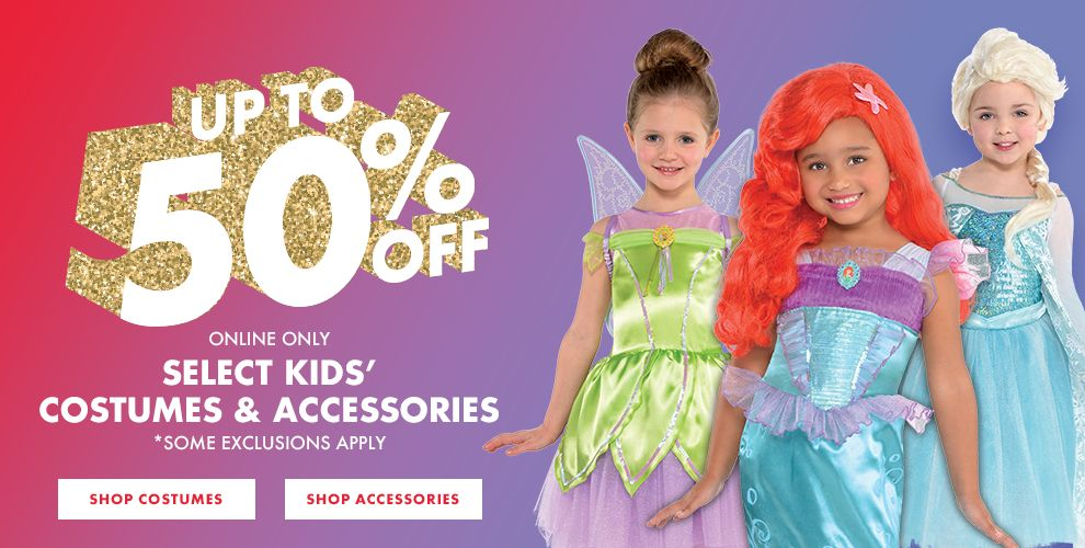 50% off Disney Princess Costumes. Shop now!