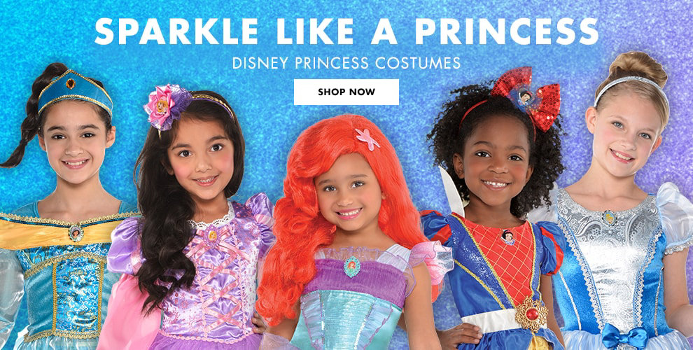 Disney Princess Costumes Shop now