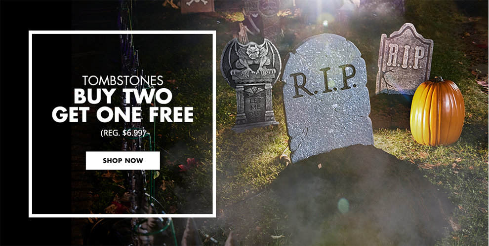 Tombstones Buy Two Get One Free (Reg. $6.99) Shop Now