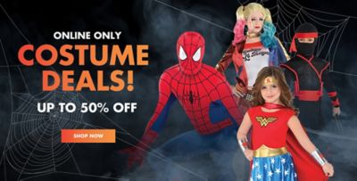 halloween plus online only costume deals up to 50 off shop now