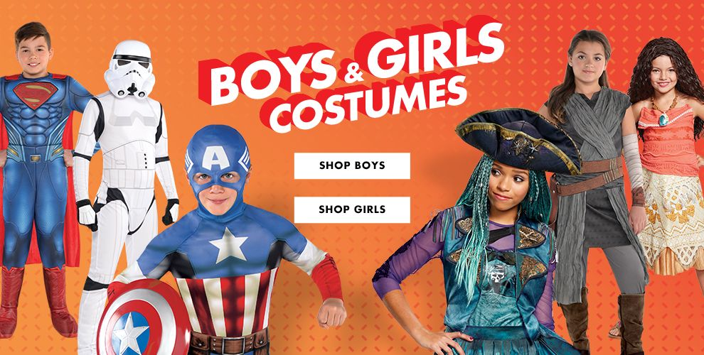 Boys & Girls Costumes