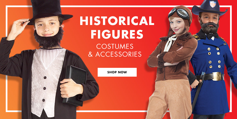 Historical Figures Costumes & Accessories Shop Now