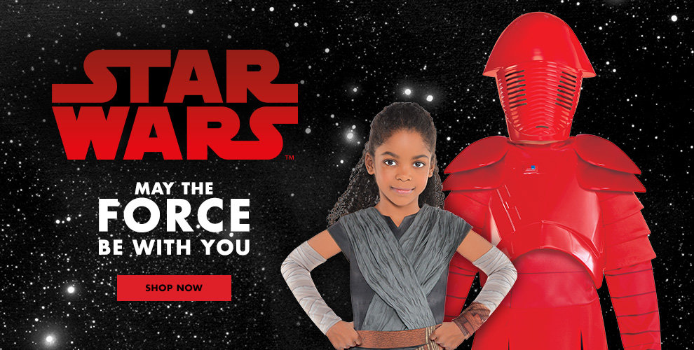 Star Wars Costumes May the Force be with You Shop Now